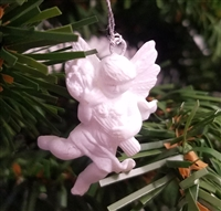 "1-1/4"" Miniature Angel with Bouquet Christmas Ornament"
