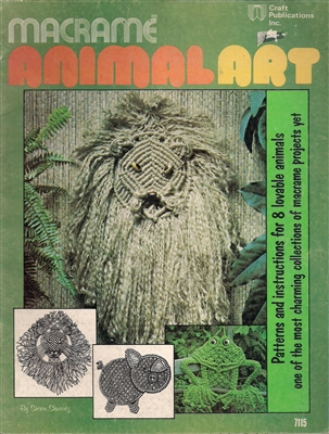 Macrame Animal Art