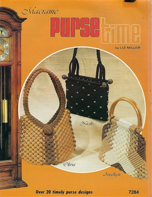 Macrame Purse Time