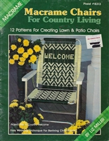 Macrame Chairs for Country Living