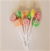 Artificial Sugared Lolly Pops Ornaments (12 pack)