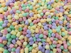 Small Sugared Gum Drop Plastic Beads, 500 ct Bag