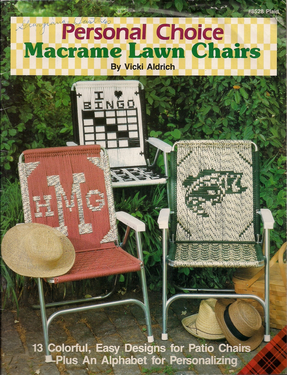 Personal Choice Macrame Lawn Chairs