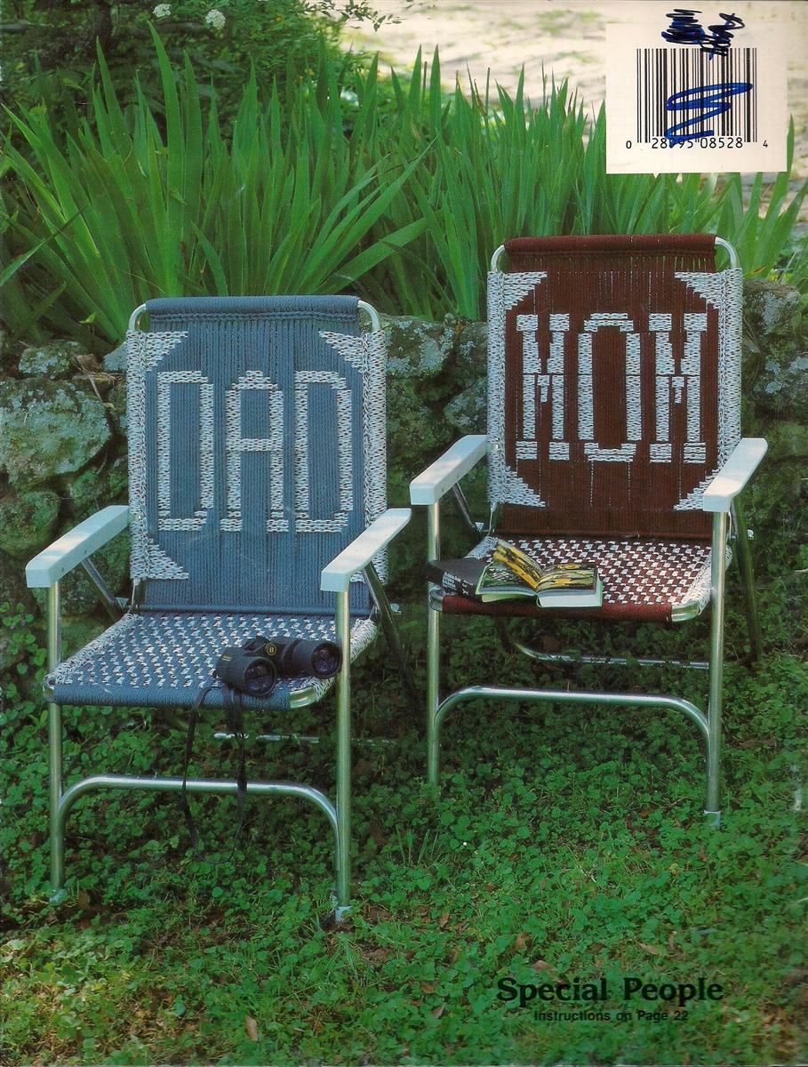 Personal Choice Macrame Lawn Chairs