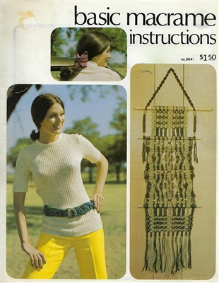 Basic Macrame Instructions