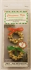 Gold Jingle Bell Wreath Christmas Ornament Kit