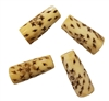 40mm Hand-Carved Genuine Bone Beads 4ct Bag