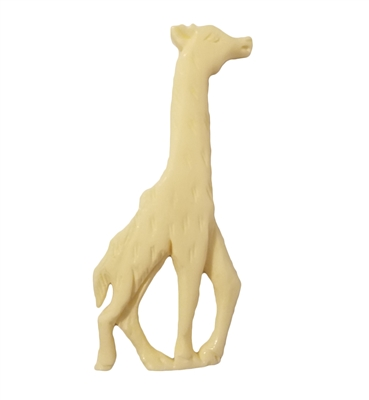 "3"" Giraffe Hand-Carved Genuine Bone Bead Pendant"