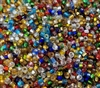 Size 10/0 Silver Lined Glass Rocaille Seed Beads (3 oz bag)
