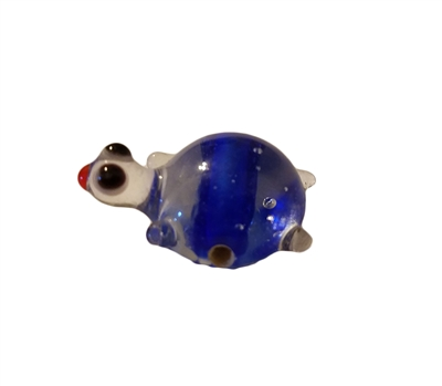 Turtle Glass Lampwork Bead, 4 ct Bag
