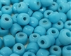 7mm x 9mm Glass Pony Beads, 100 ct Bag