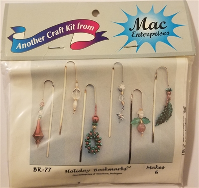 Christmas Holiday Bookmarks Beading Kit