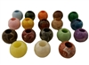 22MM Round Marbella Plastic Beads 4 ct. Bag