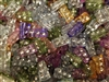 12mm Rectangular Diamonettes Rhinestone Plastic Beads, 100 ct Bag