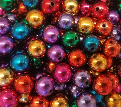 14mm Plastic Pearls Beads, 100 ct Bag
