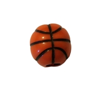 12MM Basketball Team Sports Plastic Beads, 12 Ct Bag