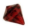 40mm Crystal Chandelier Gemstone Acrylic Teardrop Pendant Bead