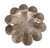 30mm Clear Crystal Flower Acrylic Charms, 8ct Bag