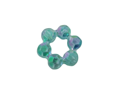 15mm Round Circlet Plastic Beads, 500 ct Bag