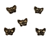 7mm x 5mm Butterfly Diamonettes Rhinestone Plastic Beads, 100 ct Bag