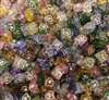7mm x 7mm Square Heart Diamonettes Rhinestone Plastic Beads, 100 ct Bag