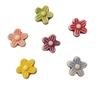 9mm Flower Plastic Beads, 100 ct Bag