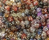 9mm Happy Heart Diamonettes Rhinestone Plastic Beads, 100 ct Bag