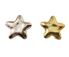 25mm Metallic Star-Shaped Plastic Beads 8 ct