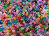 5mm Round Faceted Plastic Beads, 2,000 ct Bag