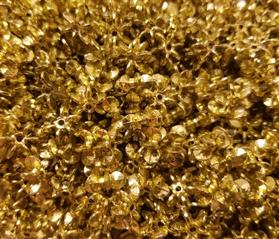 10mm Starflake Sunburst Plastic Beads, 1,000 ct Bag