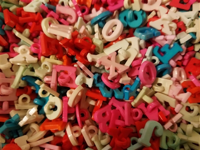 "1/2"" Alphabet A-Z Plastic Sewing Buttons, 12 ct"