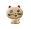 Kitty Cat with Googly Wiggly Eyes Sewing Buttons, 4 ct