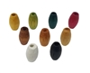 14MM x 8MM Oval Wood Barrel Beads 12 ct. Bag
