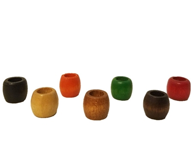 13x11MM Wood Barrel Beads 16 ct. Bag