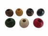 16MM Round Wood Beads 12 ct. Bag (small hole)