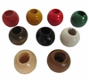 20MM Round Wood Beads 8 ct. Bag