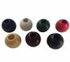 25MM Round Wood Beads 6 ct. Bag