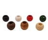 12MM Round Wood Beads with 5mm Hole, 18 ct. Bag