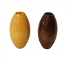 25MM x 14MM Oval Wood Beads 8 ct. Bag