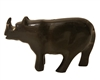 "3"" Hand-Carved Genuine Horn Rhino Bead"