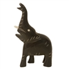 "3"" Hand-Carved Genuine Horn Elephant Bead"