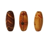 8x17MM Ethnic Patterned Oval Wood Beads 100ct Bag