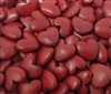 Red Heart-Shaped Wood Beads, 8 ct Bag
