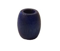 15MM x 17MM Blue Wood Barrel Beads 10 ct. Bag