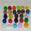 12MM 16ct. Marbella Plastic Barrel Beads