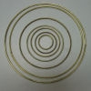"10"" Brass Ring - 10 Pack"