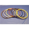 "9"" Round Plastic Rings 10 Ct. Bag"