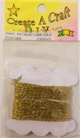 Create A Craft D.I.Y. 1 mm Metallic Lame Craft Cord 5 YD/Card