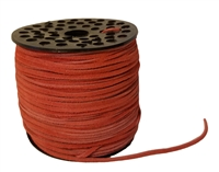 Genuine Suede Leather Lace Cord 3mm (1/8 Inch) 100 Yard Spool