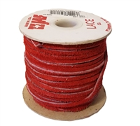 TEJAS Genuine Suede Leather Lace Cord (1/8 Inch) 25 Yard Spool